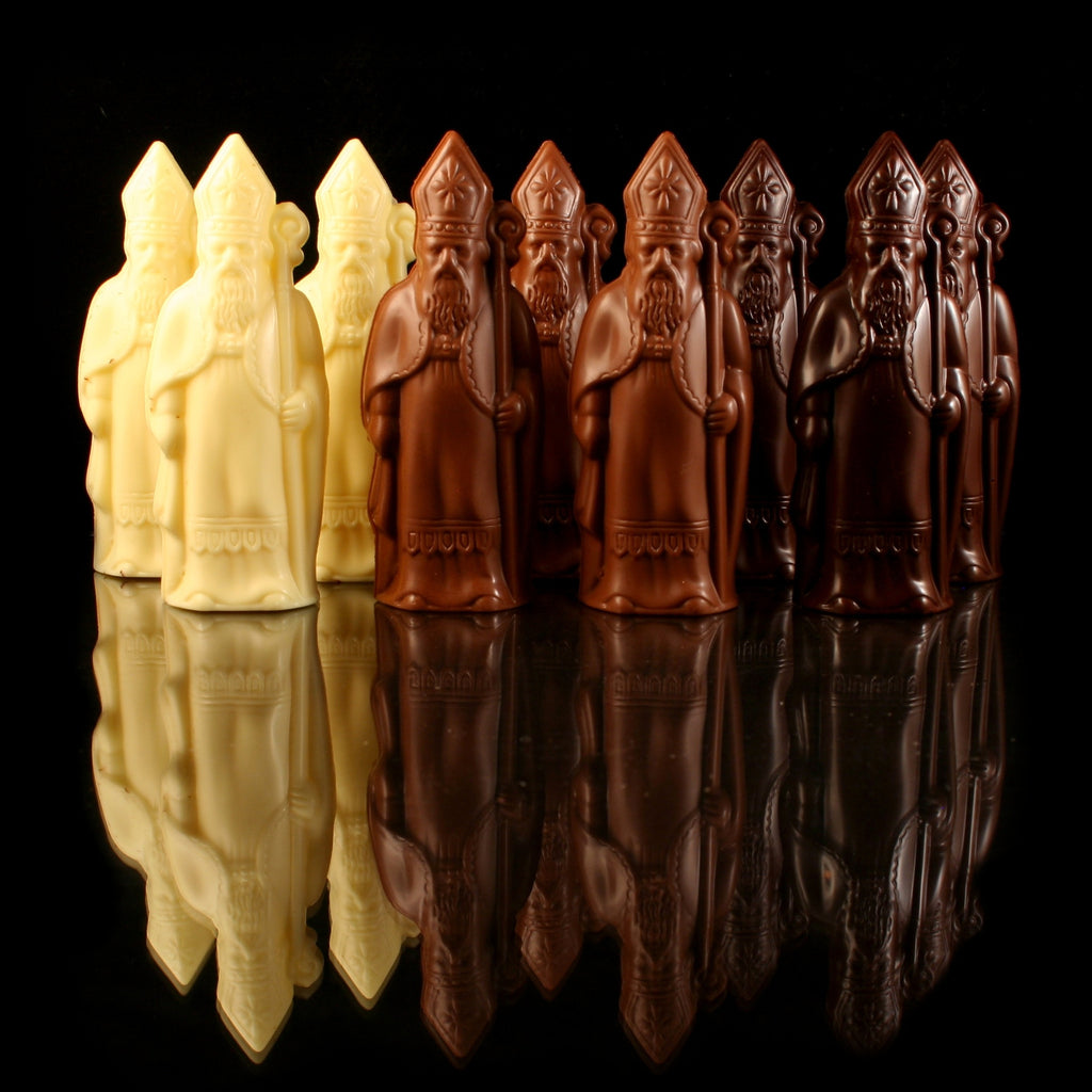 Saint Nicholas Hollow Figure - BE Chocolat