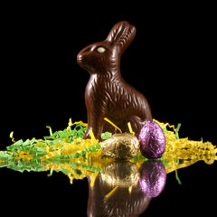 Easter Bunny & 2 Eggs - BE Chocolat