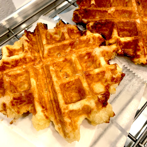 Belgian Waffle - Saturdays and Sundays only. In-store pickup