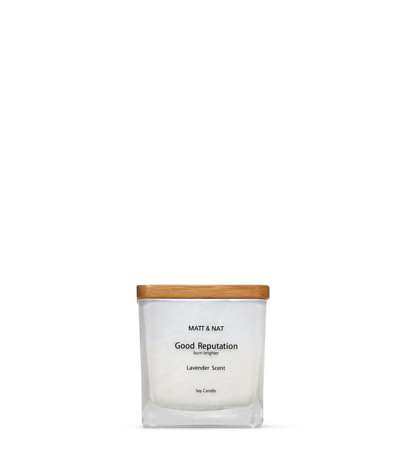 variant::white -- good reputation candle white