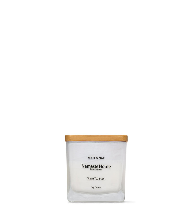 variant::white -- namaste home candle white