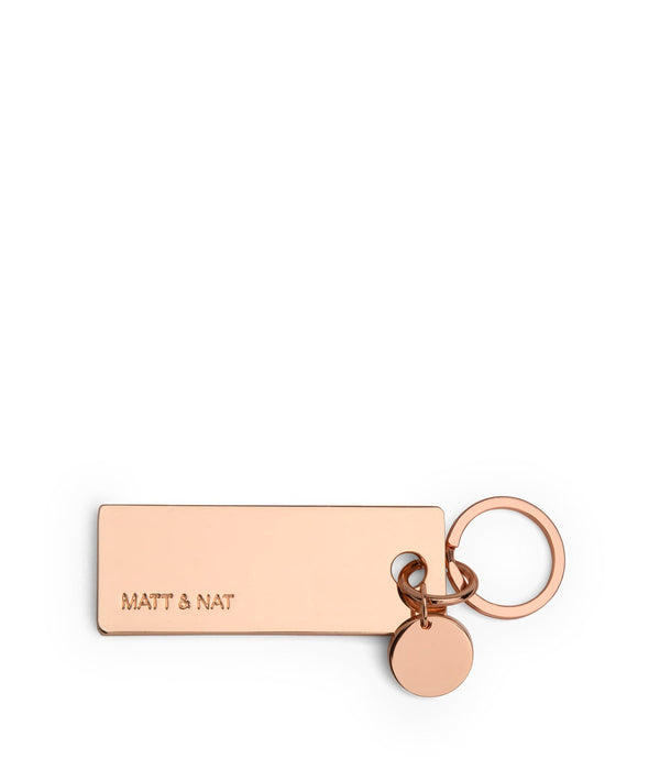 variant::rose gold -- bene key chain rose gold