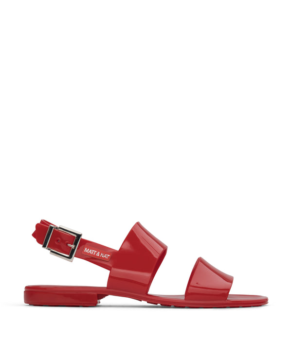 variant::red -- glam shoe red
