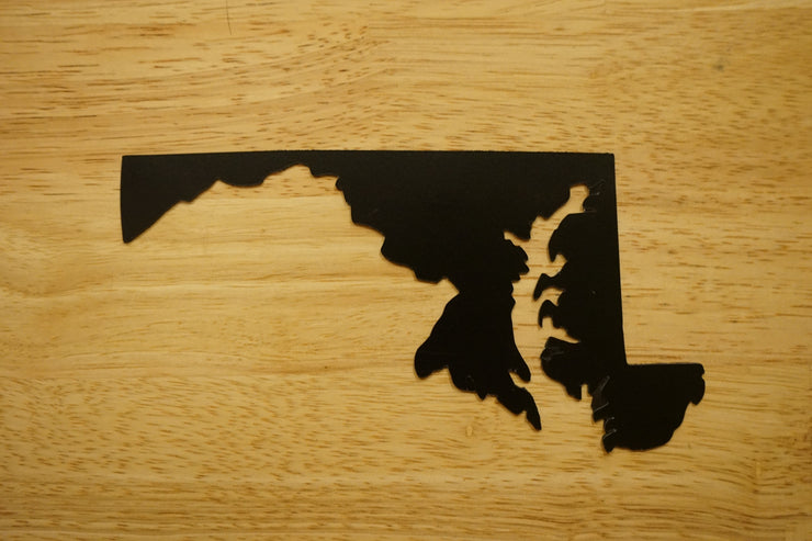 Maryland state shape Magnet.