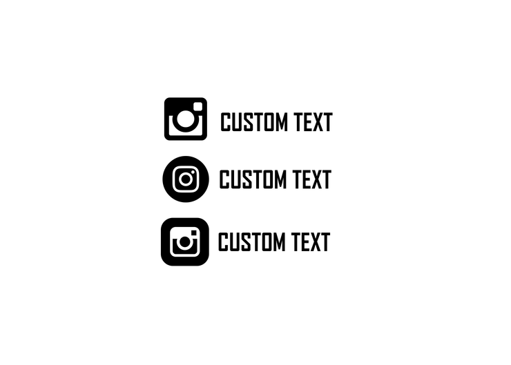 Instagram Tag decal