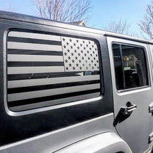Load image into Gallery viewer, JEEP WRANGLER 4 DOOR UNLIMITED FLAG DECAL