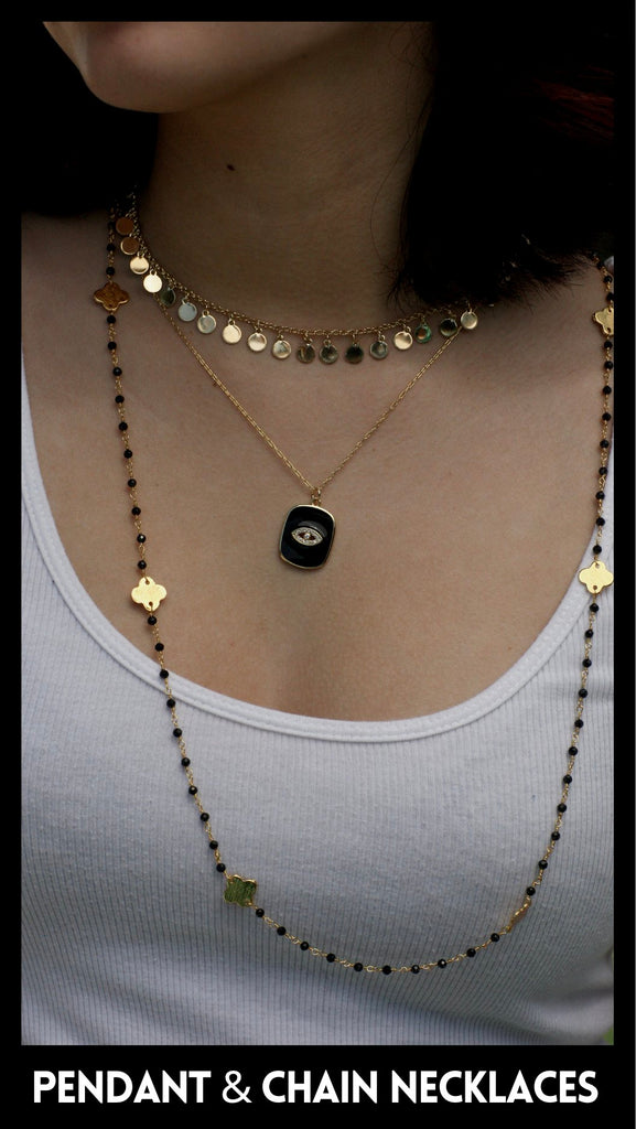 Pendant and Chain Necklaces