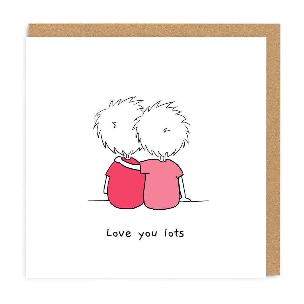 Love You Lots Greeting Card