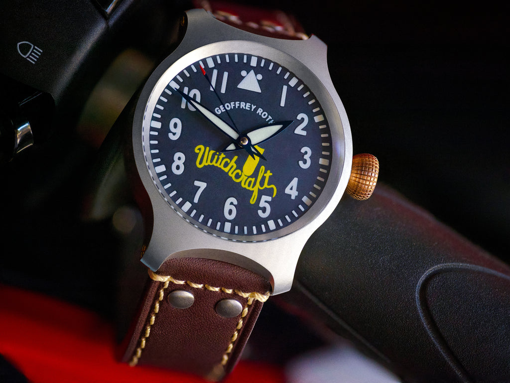 The Pilot Watch that helps to keep the B-24J in the skies