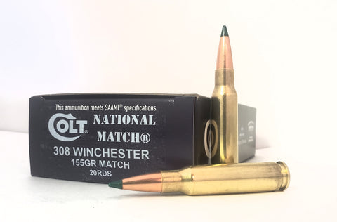 308 Win 155gr Colt National Match® 20rds