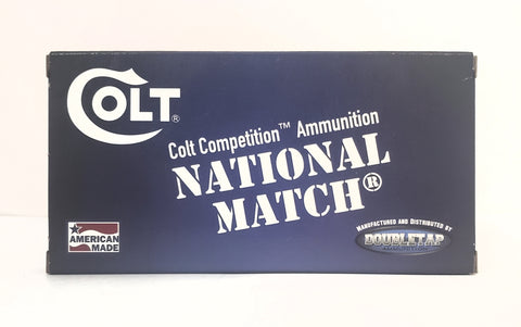 10mm 180gr Colt National Match® FMJ-FP 50rds