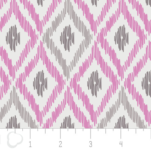Ikat in Orchid C7