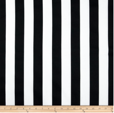 Canopy Stripe in Black P2