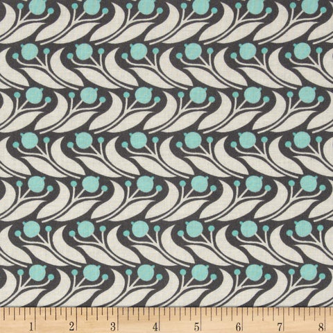 Swaying Floral - Egg Blue B1