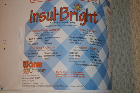 Insulbrite- sold by 0.25 meter denominations