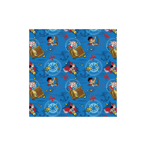 "Disney-Jake Neverland 43/44"" Wide 100% Cotton D3"