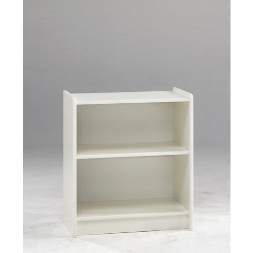 Steens For Kids Low Bookcase In White - Wall Shelves Direct