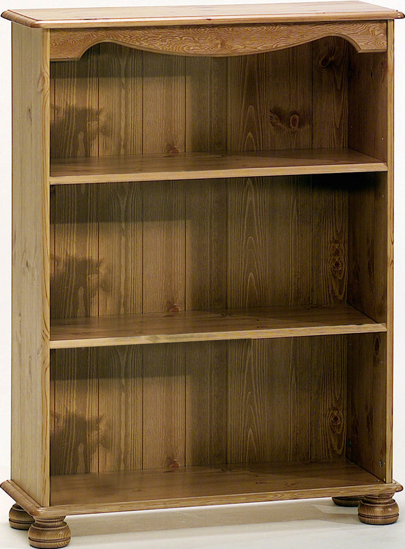 Steens Richmond Bookcase With 2 Shelves In Pine - Wall Shelves Direct