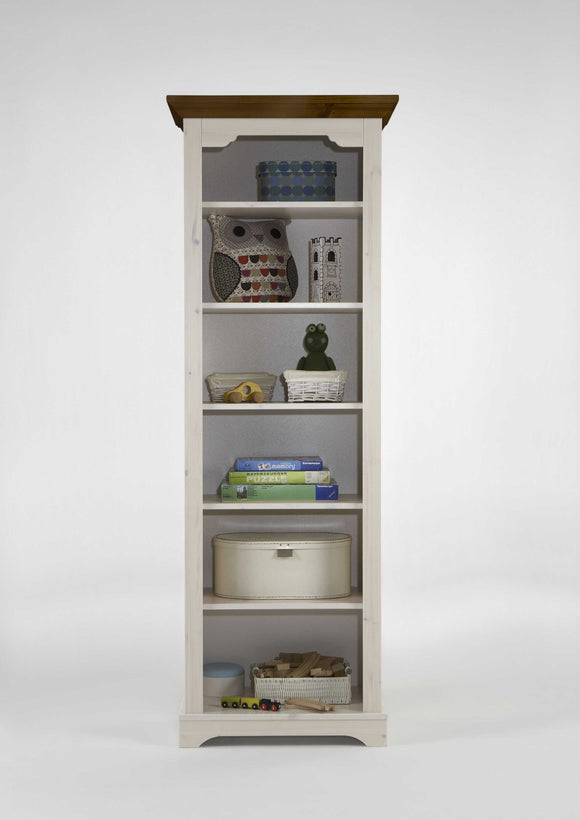 Steens Lotta In Pine Bookcase - Wall Shelves Direct