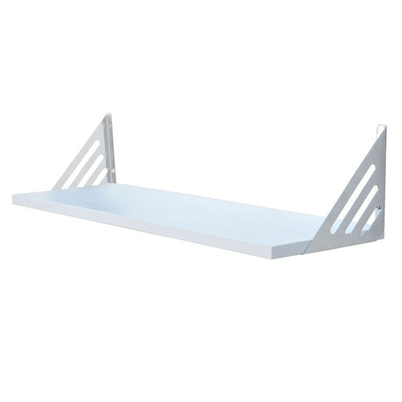 Avon Shelf Kit - White Matt - 90cm Wide - Wall Shelves Direct