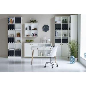 Steens Boxy 2 x 2 Small Bookcase - Wall Shelves Direct