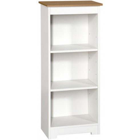 Colorado Low Narrow Bookcase - Wall Shelves Direct