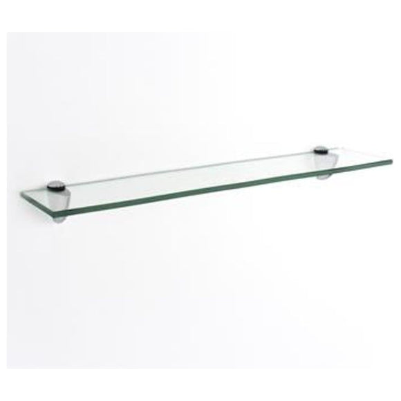 Core Products Clear Glass 500x100mm Shelf Kit - Wall Shelves Direct