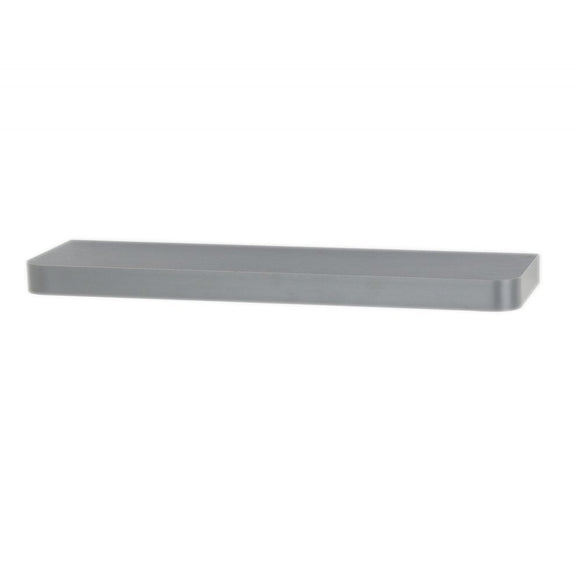 Core Products Trent Matt Grey 800x145mm Narrow Floating Shelf Kit - Wall Shelves Direct