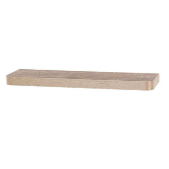 Core Products Trent Oak 800x145mm Narrow Floating Shelf Kit - Wall Shelves Direct