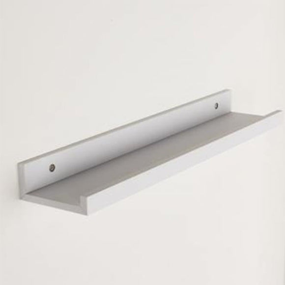 Core Products Dura Foiled White 480x100mm Display Shelf - Wall Shelves Direct