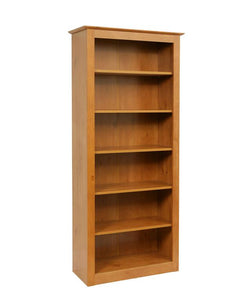 Teknik French Gardens 6 Shelf Bookcase - Wall Shelves Direct
