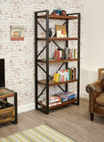 Baumhaus Urban Chic Large Open Bookcase - Wall Shelves Direct