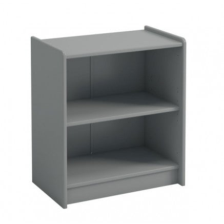 Steens For Kids Low Bookcase in Grey - Wall Shelves Direct