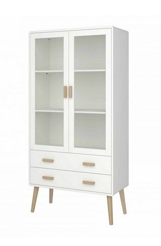 Steens Pavona Display Unit 2  Doors + 2 Drawer - Wall Shelves Direct