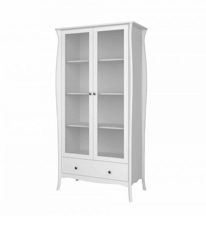 Steens Baroque Glazed Display Cabinet - Wall Shelves Direct