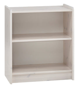 Steens For Kids Low Bookcase In Whitewash - Wall Shelves Direct