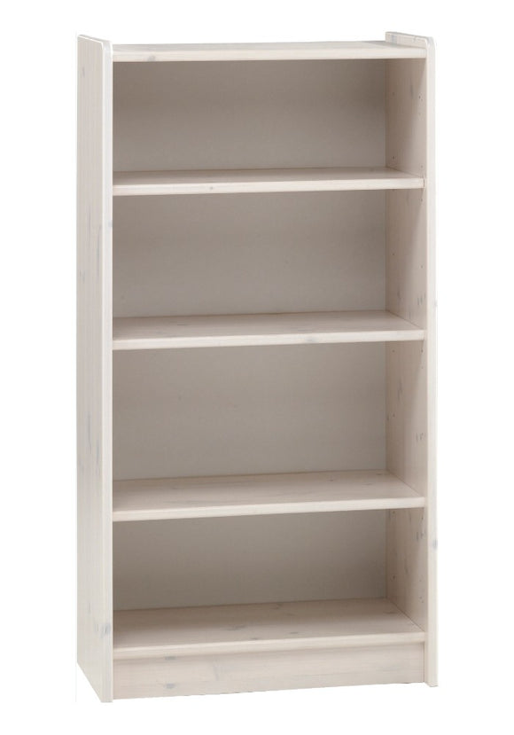 Steens For Kids Tall Bookcase In Whitewash - Wall Shelves Direct