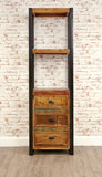Baumhaus Urban Chic Alcove Bookcase (with drawers) - Wall Shelves Direct