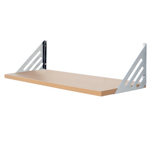 Avon Shelf Kit - Beech - 60cm Wide - Wall Shelves Direct