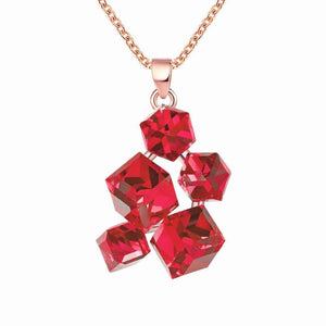 Special Fashion-forward Cubic Ladies Necklace