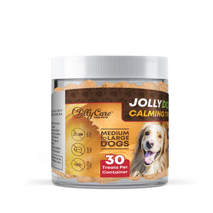 Jolly Dog's™ Calming Treats - Peanut Butter Flavored - Medium to Large Dogs