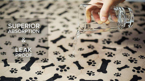 Image of Jolly Dog Reusable Pee-Absorbing Bed Mat