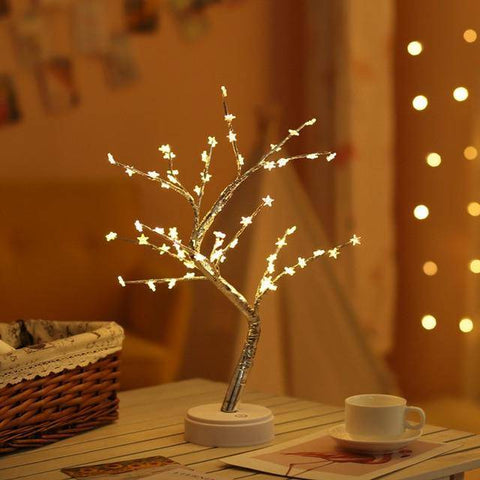 Image of Fairy Spirit Bonsai Tree Holiday Night Light