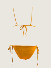 Load image into Gallery viewer, ALEX CRINKLE BIKINI in MARIGOLD