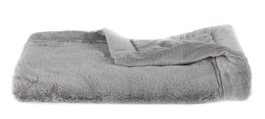 Saranoni Gray Lush Receiving Blanket