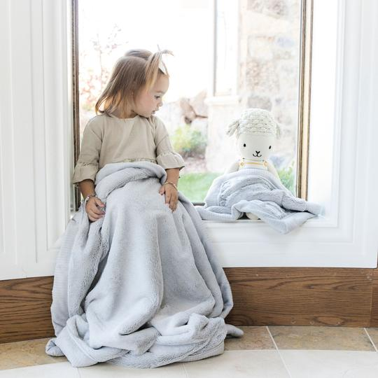 Saranoni Mist Lush Receiving Blanket