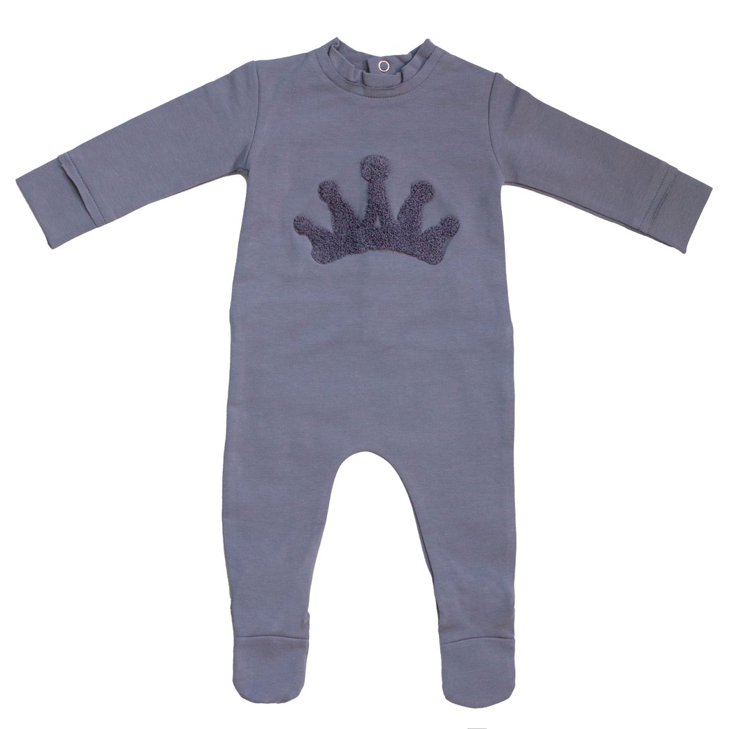 Noggiwear Fuzzy crown footie