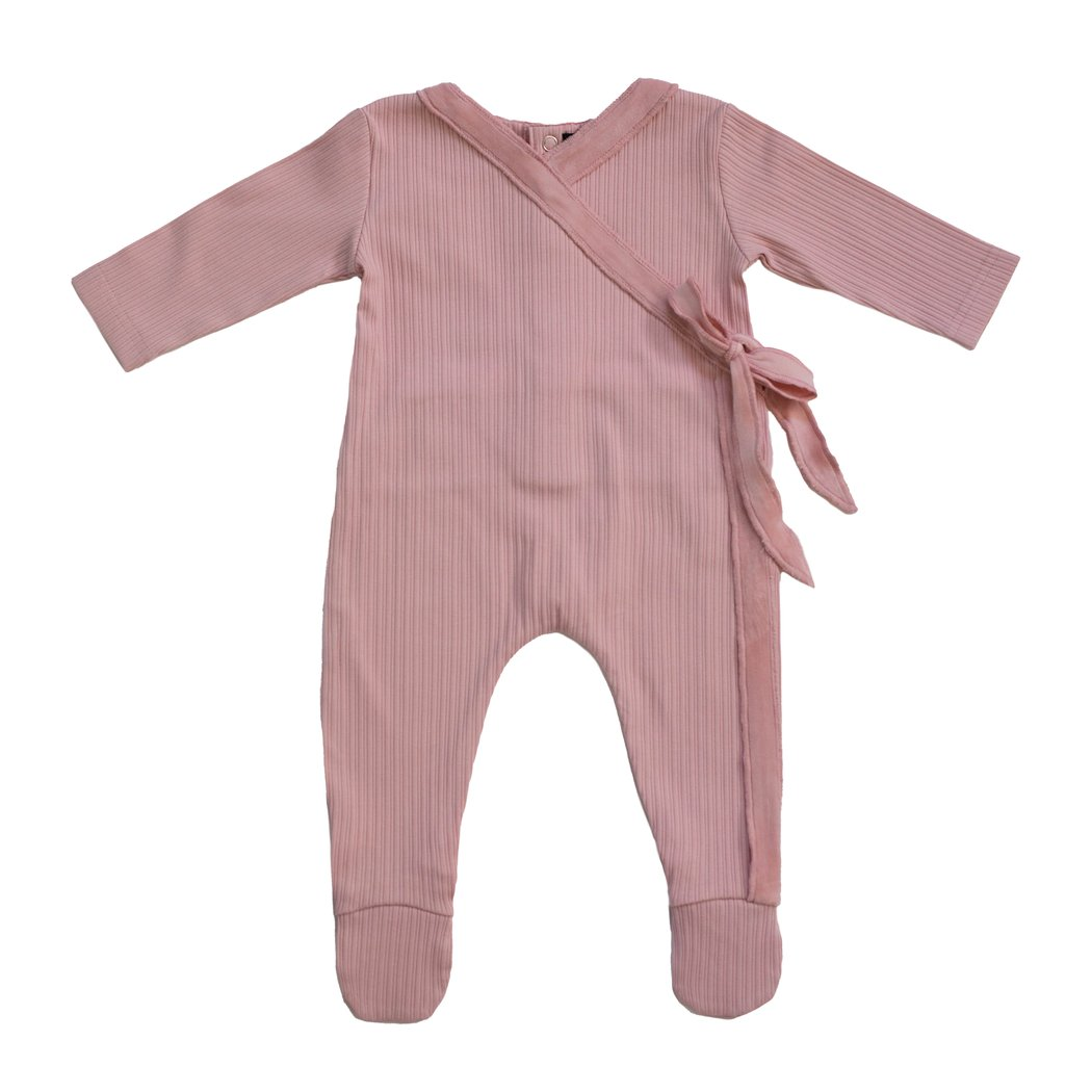 Noggiwear Velour trim wrap footie