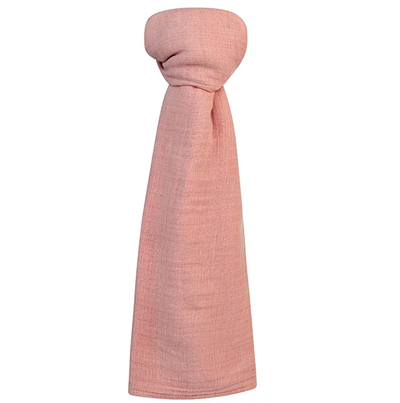 Ely's & Co Cotton Muslin Swaddle Blanket - Dusty Rose