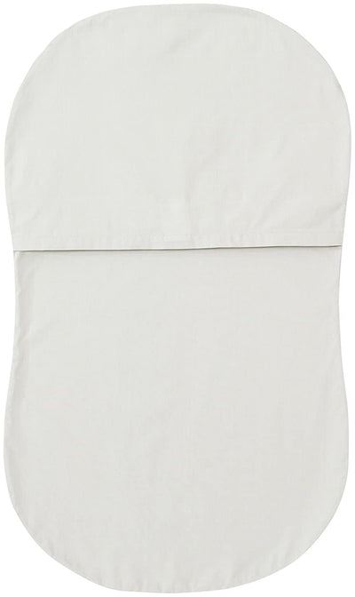Halo gray bassinest fitted sheet